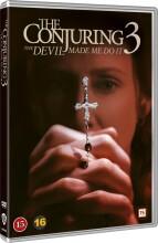 the conjuring 3 / nattens dæmoner 3 - DVD