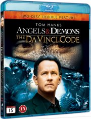 the da vinci code / engle og demoner twin pack - Blu-Ray