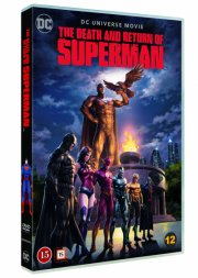the death & return of superman - DVD