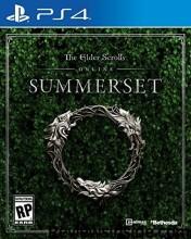 the elder scrolls online: summerset - PS4