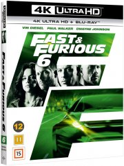 fast and furious 6 - 4k Ultra HD Blu-Ray