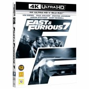 fast and furious 7 - 4k Ultra HD Blu-Ray