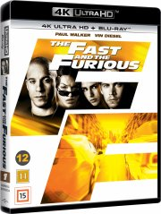 the fast and the furious - 4k Ultra HD Blu-Ray