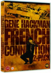 the french connection 1-2 - gene hackman - DVD