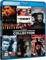 the girl with the dragon tattoo // the equalizer // blackhat // vantage point // the debt // closed circuit - Blu-Ray