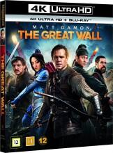 the great wall - 4k Ultra HD Blu-Ray