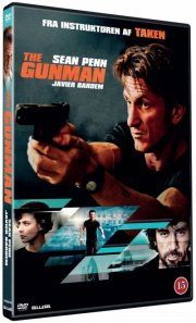 the gunman - 2015 - DVD