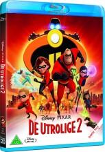 de utrolige 2 / the incredibles 2 - disney pixar - Blu-Ray