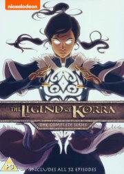 the legend of korra: the complete series - DVD