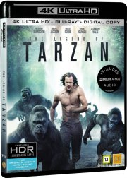 the legend of tarzan - 4k Ultra HD Blu-Ray