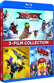 the lego ninjago movie // the lego batman movie // the lego movie - Blu-Ray