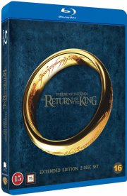 ringenes herre 3 - kongen vender tilbage / lord of the rings 3 - return of the king - Blu-Ray
