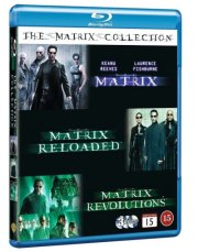 the matrix trilogy : the matrix 1 // the matrix 2 - reloaded // the matrix 3 - revolutions - Blu-Ray