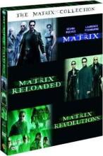 the matrix trilogy : the matrix 1 // the matrix 2 - reloaded // the matrix 3 - revolutions - DVD