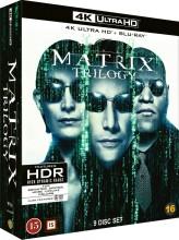the matrix trilogy - the matrix 1 // the matrix 2 - reloaded // the matrix 3 - revolutions - 4k Ultra HD Blu-Ray