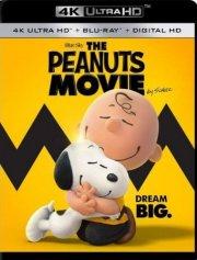 the peanuts movie / filmen om radiserne - 4k Ultra HD Blu-Ray