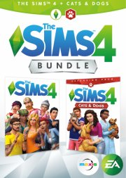the sims 4 + cats & dogs (dk) - PC