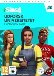 the sims 4 university - ep8 - udforsk universitetet - dansk - PC