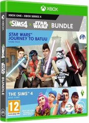 the sims 4 star wars: journey to batuu - base game and game pack bundle - xbox one