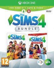 the sims 4 & the sims cats & dogs bundle - xbox one