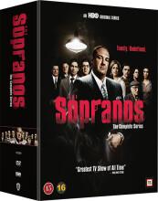 the sopranos box - sæson 1-6 - den komplette serie - hbo - DVD