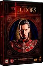 the tudors - sæson 1-4 - komplet dvd box - DVD