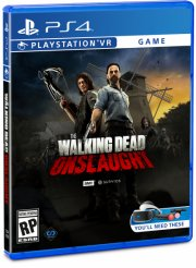 the walking dead onslaught survivor edition vr - PS4