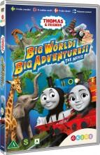 thomas og vennerne / thomas and friends - stor verden store eventyr! - DVD