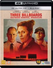 three billboards outside ebbing missouri - 4k Ultra HD Blu-Ray