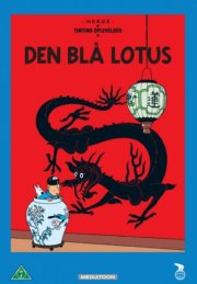 tintin - den blå lotus / the blue lotus - DVD