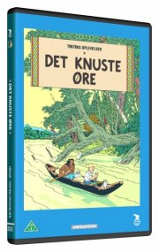 tintin - det knuste øre / the broken ear - DVD