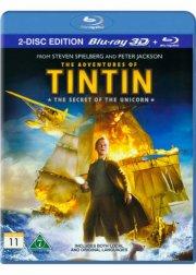 tintin - enhjørningens hemmelighed / the secret of the unicorn - 3D Blu-Ray
