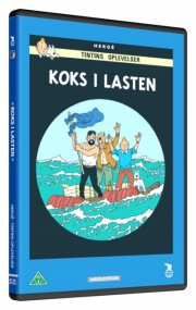 tintin - koks i lasten / the red sea sharks - DVD