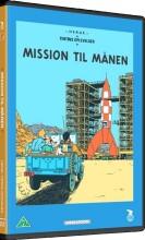 the adventures of tintin - tintin - månen tur-retur - del 1 - DVD