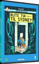 tintin - rute 714 til sydney / flight 714 - DVD