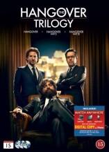 the hangover trilogy - 1: tømmermænd i vegas // 2: tømmermænd i thailand // 3: tur retur - DVD