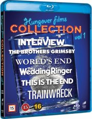 trainwreck // this is the end // the interview // the brothers grimby // the wedding ringer // the world's end - Blu-Ray