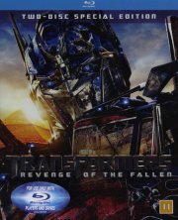 transformers 2 revenge of the fallen / de faldnes hævn - Blu-Ray