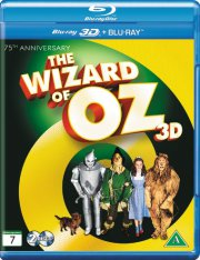wizard of oz / troldmanden fra oz - 3D Blu-Ray