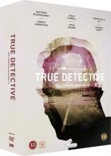 true detective - sæson 1-3 - DVD