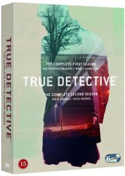 true detective - sæson 1 + 2 - hbo - DVD