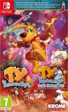 ty the tasmania tiger hd + ty the tasmania tiger hd 2: bush rescue hd bundle - Nintendo Switch
