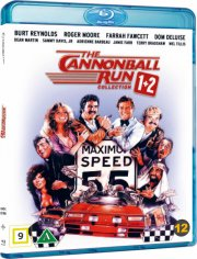 ud at køre med de skøre 1-2 // the canonball run 1-2 - Blu-Ray