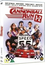 ud at køre med de skøre 1-2 // the canonball run 1-2 - DVD