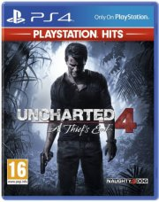 uncharted 4: a thief's end - playstation hits - nordisk - PS4