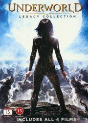 underworld 1-4 - the legacy collection - DVD