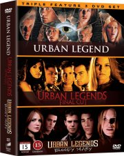 urban legend // urban legends 2 - final cut // urban legends 3 - bloody mary - DVD