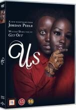 us - 2019 gyser af jordan peele  - DVD