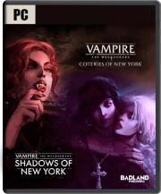 vampire the mascarade coteries of new york + shadows of new york - PC