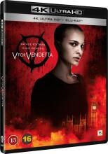 v for vendetta - 4k Ultra HD Blu-Ray